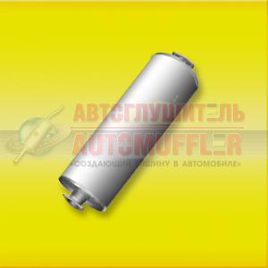 Глушитель УАЗ 31604 два фланца