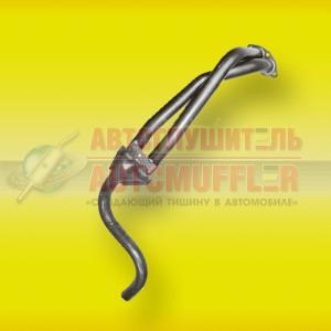 труба приемная газ 31029 (дв406) с прорезью