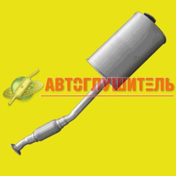 (32)Глушитель УАЗ 315195 Хантер (дв ЗМЗ 409) Евро 3 с гофрой
