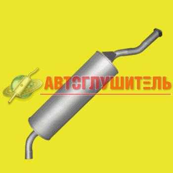 (36)Глушитель ГАЗ 3309 (245дв) Евро 3