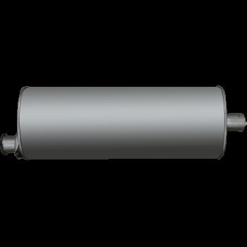 Глушитель ГАЗ 3302, 2217, 3307 Евро 3 (хомут_фланец)